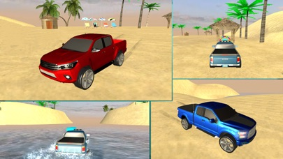 ビーチトラック水サーフィン - 3D楽しむドライブシムのおすすめ画像5