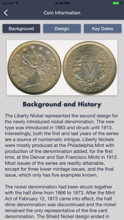 Liberty Nickels - Coin Guide & Collection Tracker