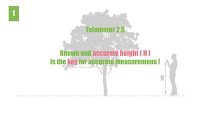 Telemeter. Distance and Height screenshot 4