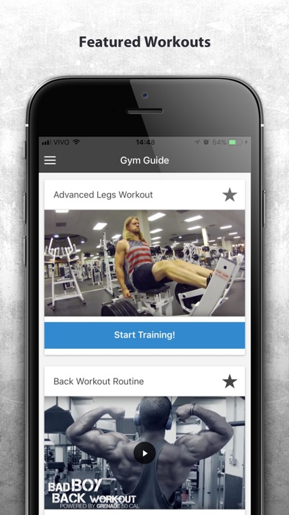 Gym Guide - Workout Tutorial