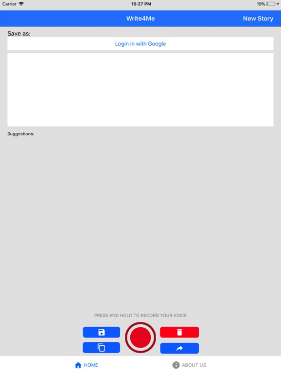 Write4Me - Voice to Text,Story screenshot 7