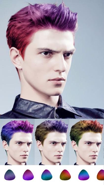 Hair Style Salon&Color Changer screenshot-6
