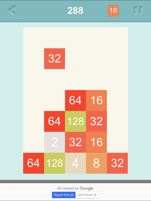 Number Combo - the best improvement of 2048, new way to play screenshot