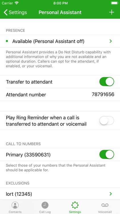 Call Control for BroadWorks V2 screenshot-4