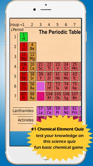 Periodic table of elements quiz app choice image periodic table periodic table chemical element symbols quiz on the app store screenshots flavorsomefo choice image urtaz Choice Image