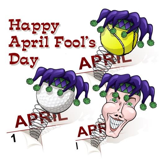 April Fool Sports Stickers