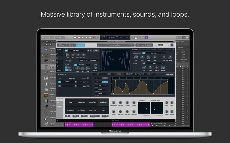 Logic Pro X Screenshots