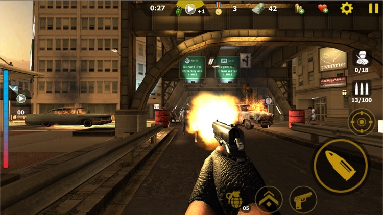 Kill the Zombies: Shooter Game screenshot-3