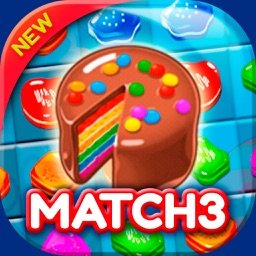 Muffin Factory Match 3: Move and Connect Cakes
