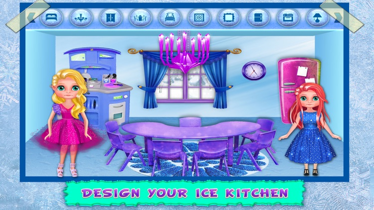 Ice Doll House Decoration Home