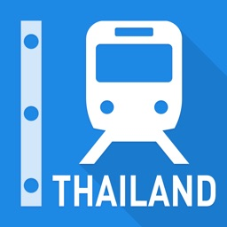 Thailand Rail Map - Bangkok & All Thailand