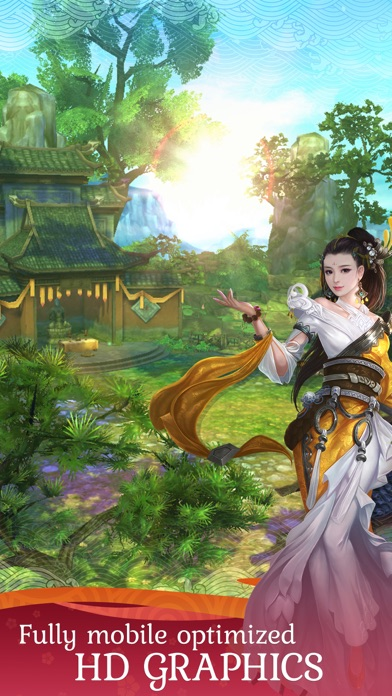 Jade Dynasty Mobile Screenshots