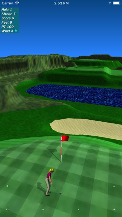 Par 3 Golf Lite screenshot two