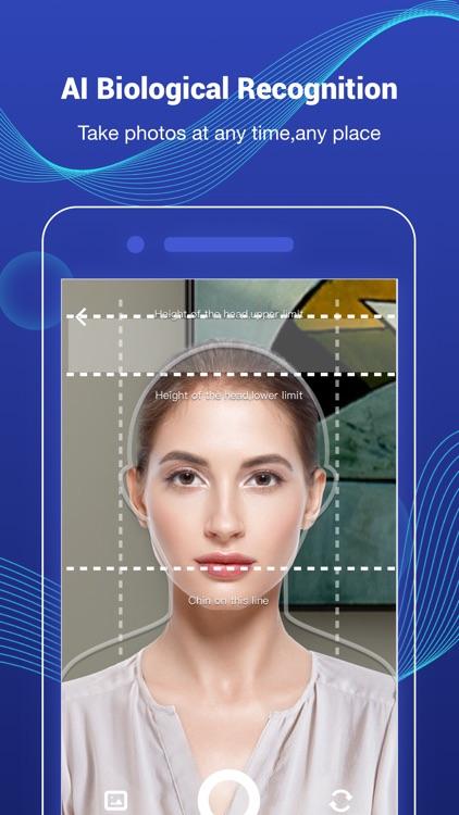 Photid-AI Passport Photo Booth screenshot-0