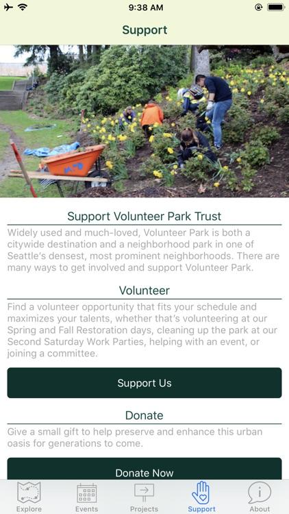 Volunteer Park Tour