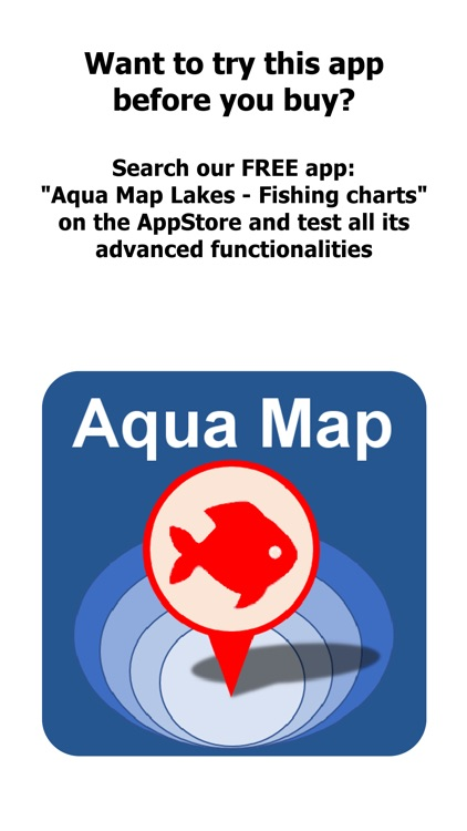 Aqua Map North Dakota Lakes screenshot-0