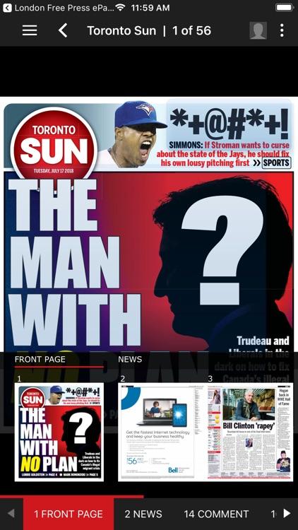 Toronto Sun ePaper
