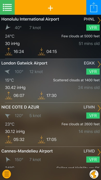 Easy Aviation Weather Screenshot