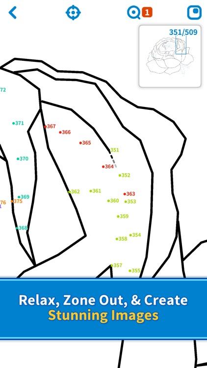 Dot to Dot - Relaxing Puzzles screenshot-3