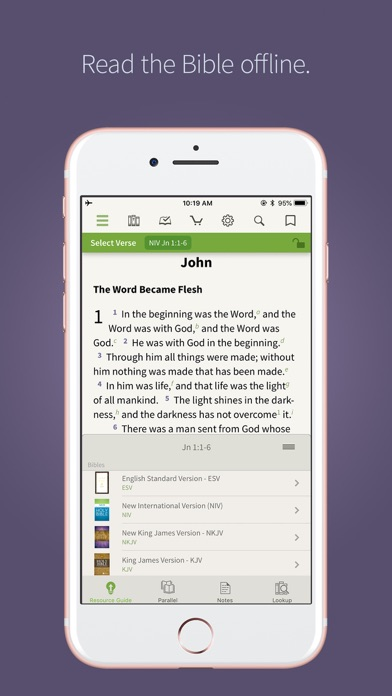 NIV Bible App + screenshot one
