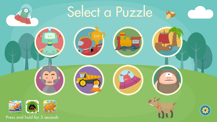 Shape Puzzle Lite screenshot-2
