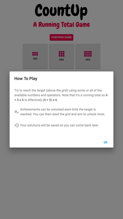 Count Up: A Running Total Game screenshot 4