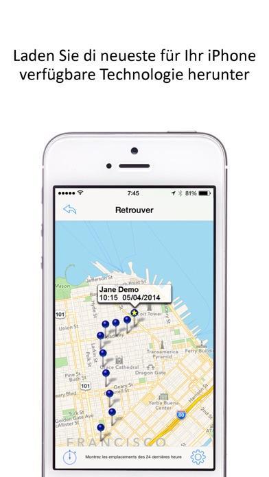 gps tracker f r das handy app bewertung social. Black Bedroom Furniture Sets. Home Design Ideas
