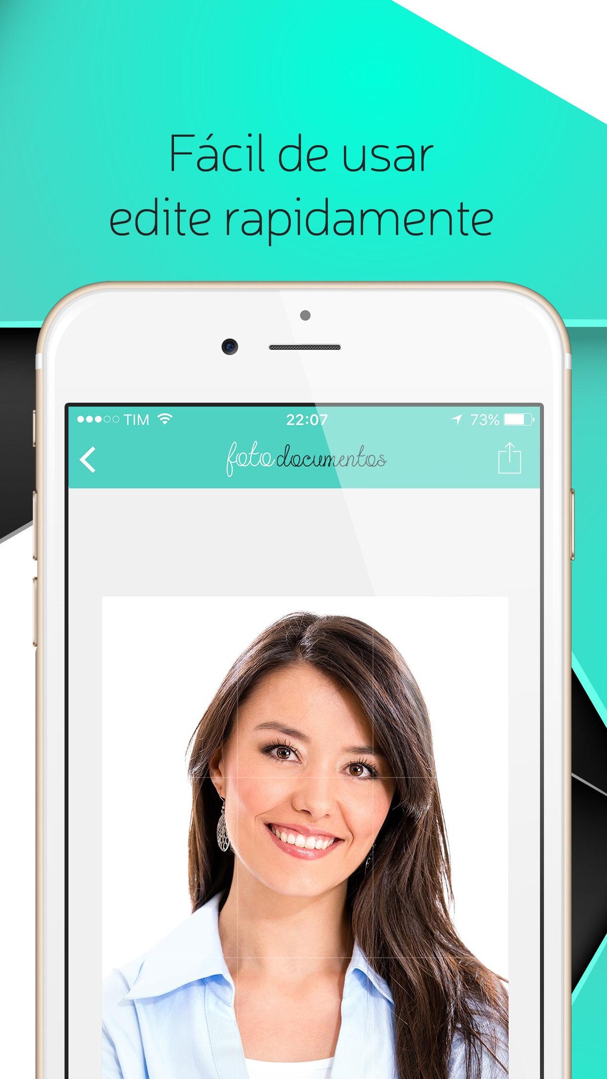 Screenshot do app Foto Documentos