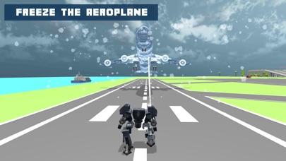 Snow Robot War: Freezing Power screenshot 5