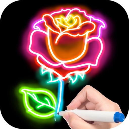Doodle Glow iOS App