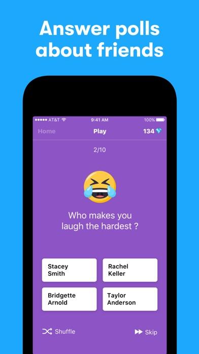 Screenshot of tbh App