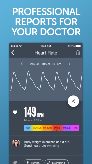 Instant Heart Rate+ HR Monitor app image