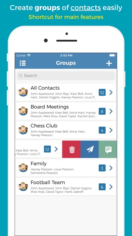 Groups - Group Text by Smartsquare SCS