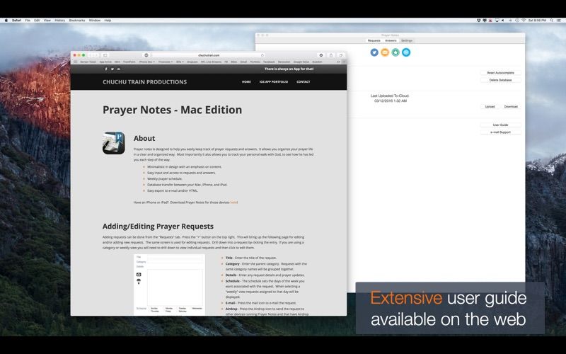 Prayer Notes - A Daily Journal with God for Mac
