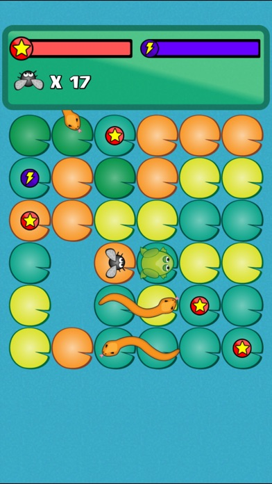 Frog Flies and Snakes Ad Free Screenshot 2