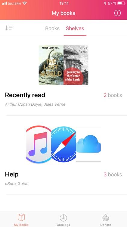 eBoox - book reader screenshot-5