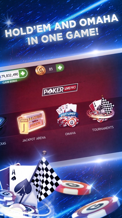 Poker Texas Holdem Live Pro screenshot-3
