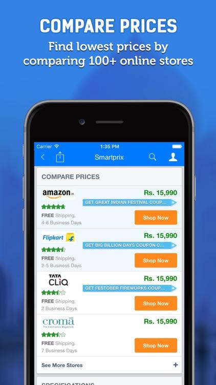 Price Comparison App >> Smartprix Price Comparison By Smartprix
