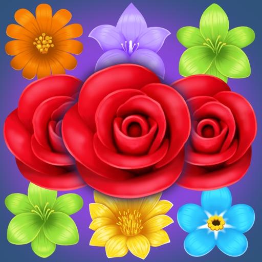 Цветок Матч Головоломка