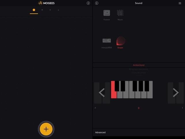 Mogees Pro Screenshot