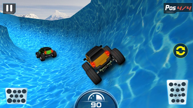 Water Slide Monster Truck driving screenshot-4