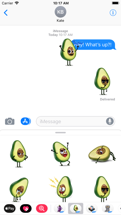 Avocad'oh by Moji screenshot 2