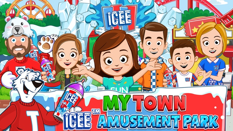My Town : ICEE™ Amusement Park screenshot-0