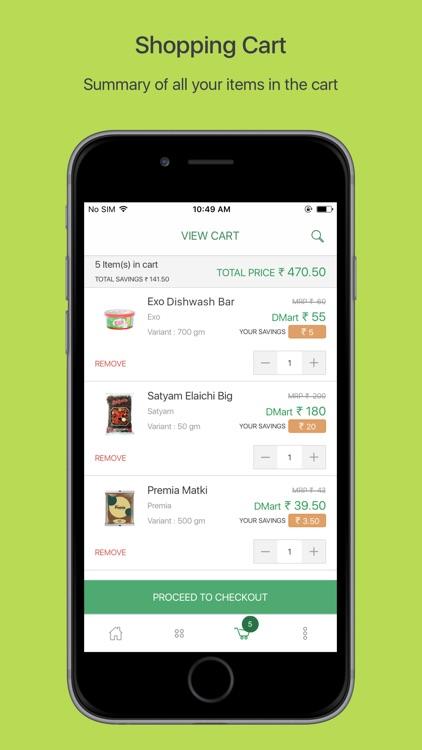 DMart Online Grocery Shopping screenshot-3