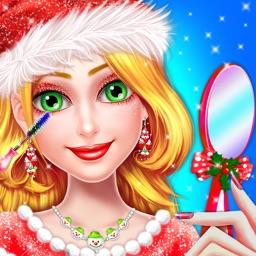 Christmas Girls Makeover Fun