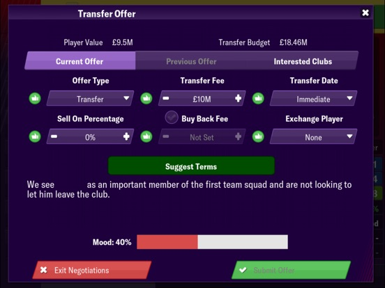 Football Manager 2019 Mobile screenshot #6