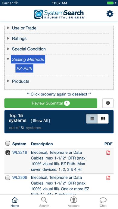 点击获取STI System Search & Submittals
