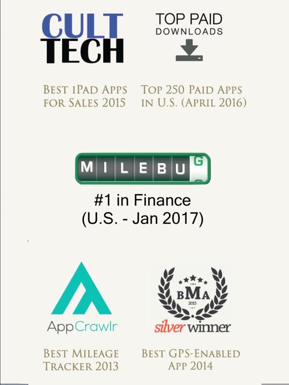 milebug mileage tracker log app price drops