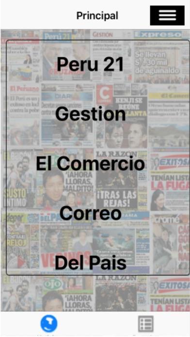 Entre Noticias España screenshot one