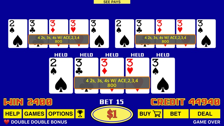 The Classic Video Poker